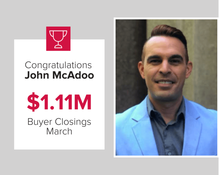 March 2020 Top Performing Agent