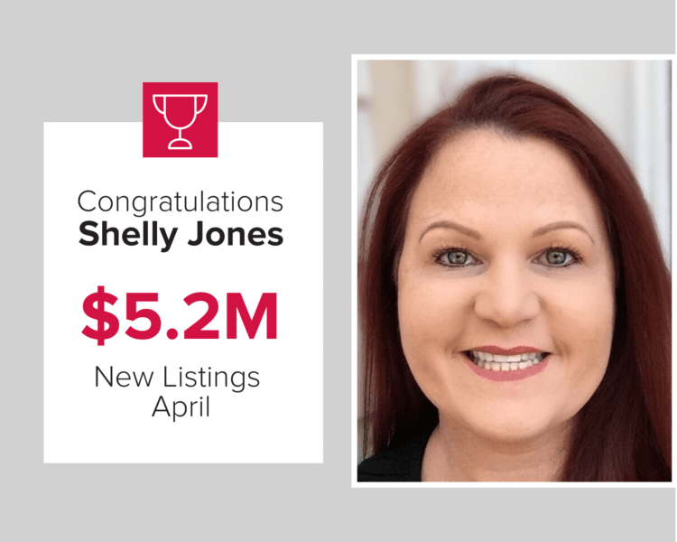 Shelly Jones listed over $5.2M in homes in April 2020.