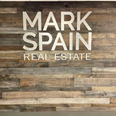 This is the Mark Spain Real Estate Stockbridge lobby.