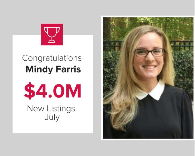 Mindy Farris listed $4.0 million in homes.