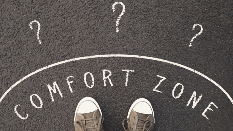 Check out why the magic happens when you step outside of your comfort zone