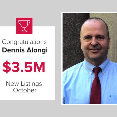Dennis top October agent
