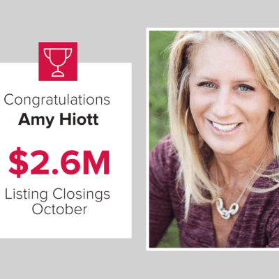 Amy Hiott is a top agent for closings.