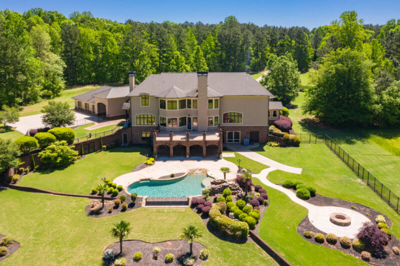 Amenities - large fenced in backyard and pool