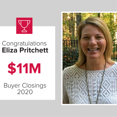 Eliza was our number 2 buy agent for 2020
