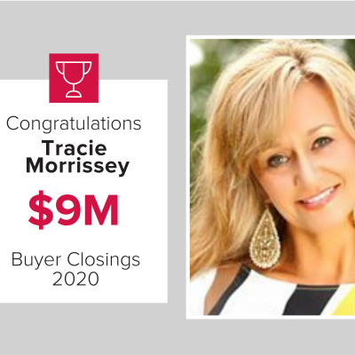 Tracie was our number 3 buyers agent for 2020
