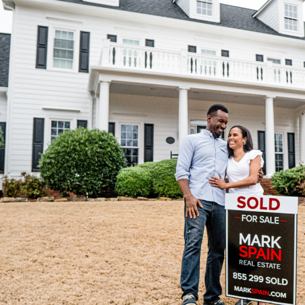 This couple sold their home with Mark Spain Real Estate