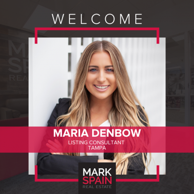 We are proud to welcome Maria Denbow to the Florida team!