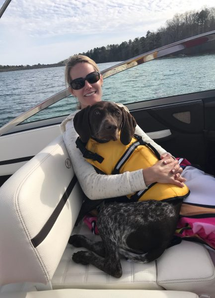 Stacy, another new Associate Directors of Sales, loves to spend time boating on Lake Lanier.