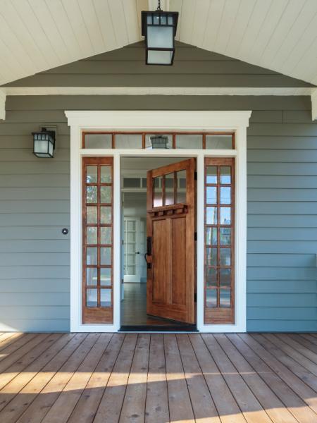 STAGING; FRONT DOOR